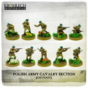 Kromlech   Kromlech Historical Polish Army Cavalry Section on foot (10) - KHWW2028 - 5902216117693