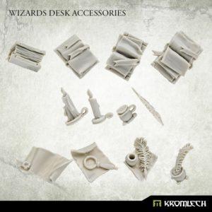 Kromlech   Kromlech Terrain Wizard's Desk Accesories (12) - KRBK062 - 5908291070441