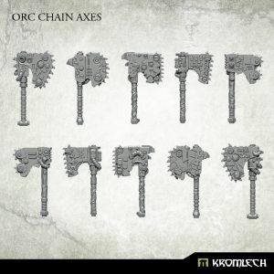 Kromlech   Orc Conversion Parts Orc Chain Axes (10) - KRCB214 - 5902216116818