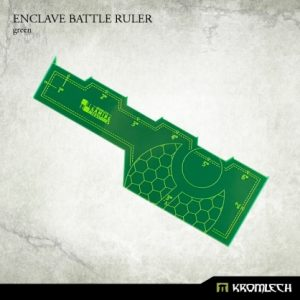 Kromlech   Tapes & Measuring Sticks Enclave Battle Ruler [green] (1) - KRGA015 - 5902216114104