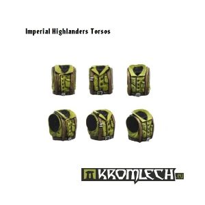Kromlech   Imperial Guard Conversion Parts Imperial Highlanders Torsos (6) - KRCB072 - 5902216110700
