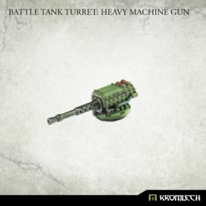 Kromlech   Imperial Guard Conversion Parts Battle Tank Turret: Heavy Machine Gun (1) - KRVB085 - 5902216119758