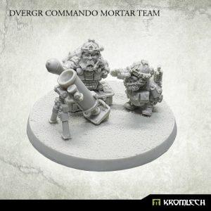 Kromlech   Dvergr Model Kits Dvergr Commando Mortar Team (3) - KRM135 - 5902216116238