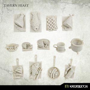 Kromlech   Kromlech Terrain Tavern Feast (13) - KRBK060 - 5908291070427