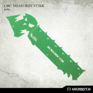 Kromlech   Tapes & Measuring Sticks Orc Measurin' Stikk [green] (1) - KRGA004 - 5902216112353