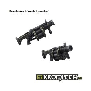 Kromlech   Imperial Guard Conversion Parts Guardsmen Grenade Launchers (5) - KRCB098 - 5902216110960