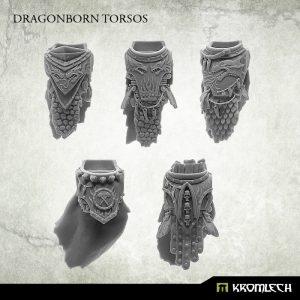 Kromlech   Legionary Conversion Parts Dragonborn Torsos (5) - KRCB219 - 5902216117211