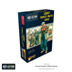 Warlord Games Bolt Action  Soviet Union (BA) Soviet Peoples Militia Squad - 402214008 - 5060572505582