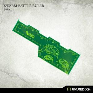 Kromlech   Tapes & Measuring Sticks Swarm Battle Ruler [green] (1) - KRGA013 - 5902216114081