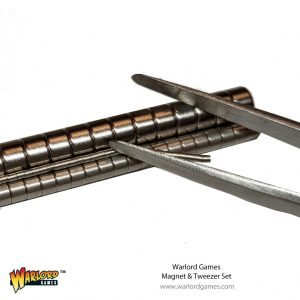 Warlord Games   Warlord Games Tools Warlord Magnets & Tweezer Set - 843419915 - 5060572507418