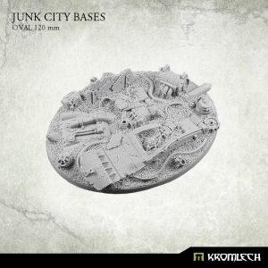 Kromlech   Junk City Bases Junk City oval 120mm (1) - KRRB022 -
