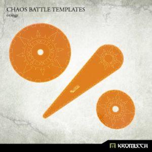 Kromlech   Templates Chaos Battle Templates [orange] - KRGA040 - 5902216114357