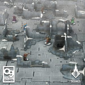 Kromlech   Kromlech Terrain Town Ruins - KRTS142 - 5908291070229