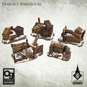 Kromlech Frostgrave  Kromlech Terrain Derelict Warehouse [Frostgrave] (5) - KRBK045 - 5908291070250