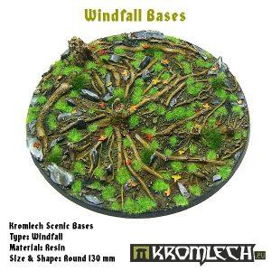 Kromlech   Windfall Bases Windfall round 130mm (1) - KRRB037 -
