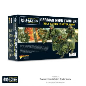 Warlord Games Bolt Action  Germany (BA) German Heer (Winter) starter army - 402612003 - 5060572508057