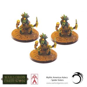 Warlord Games Warlord of Erehwon  Warlords of Erehwon Warlord of Erehwon: Spider Sisters - 723011003 -