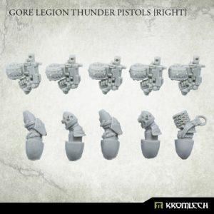 Kromlech   Misc / Weapons Conversion Parts Gore Legion Thunder Pistols Set1 [right] (5) - KRCB243 - 5908291070007