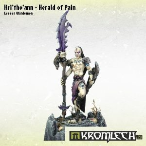 Kromlech   Demons Model Kits Kri'tho'ann - Herald of Pain - KRM072 - 5902216112810