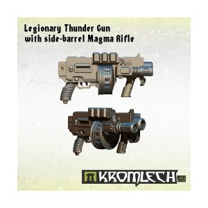 Kromlech   Legionary Conversion Parts Legionary Thunder Gun with side-barrel Magma Rifle (5) - KRCB137 - 5902216112964
