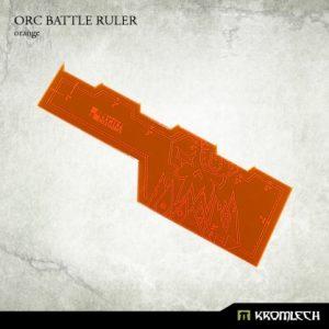 Kromlech   Tapes & Measuring Sticks Orc Battle Ruler [orange] (1) - KRGA018 - 5902216114135