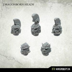 Kromlech   Legionary Conversion Parts Dragonborn Heads (10) - KRCB221 - 5902216117235