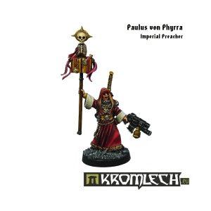 Kromlech   Imperial Guard Model Kits Paulus von Phyrra, Imperial Preacher - KRM047 - 5902216111707
