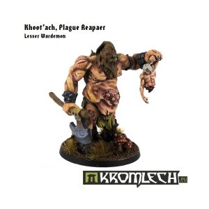 Kromlech   Heretic Legionary Model Kits Khoot'ach, Plague Reaper - KRM017 - 5902216111424