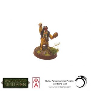 Warlord Games Warlord of Erehwon  Warlords of Erehwon Warlord of Erehwon: Medicine Man - 723014003 -