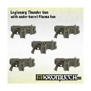 Kromlech   Legionary Conversion Parts Legionary Thunder Gun with under-barrel Plasma Gun (5) - KRCB136 - 5902216112957