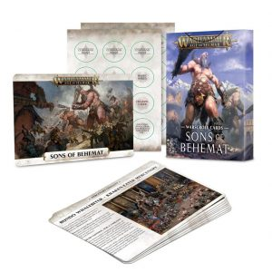 Games Workshop Age of Sigmar  Sons of Behemat Warscroll Cards: Sons of Behemat - 60220299015 - 5011921128839