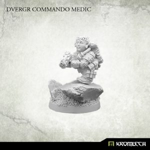 Kromlech   Dvergr Model Kits Dvergr Commando Medic (1) - KRM129 - 5902216115408