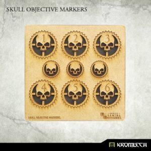 Kromlech   Objective Markers Skull Objective Markers [HDF] - KRGA046 - 5902216115156