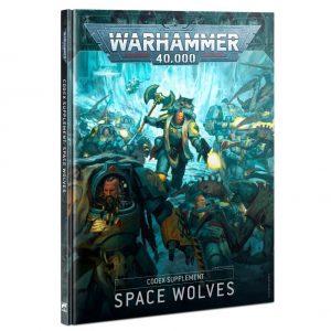 Games Workshop Warhammer 40,000  Codex Codex Supplement: Space Wolves - 60030101052 - 9781839061134