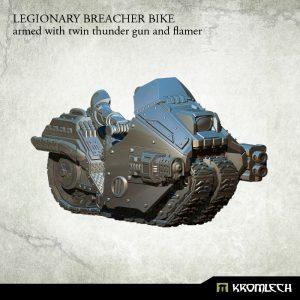 Kromlech   Legionary Model Kits Legionary Breacher Bike (1) twin thunder gun and flamer - KRM105 - 5902216113923