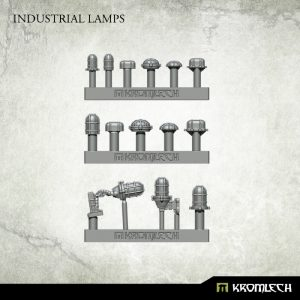 Kromlech   Misc / Weapons Conversion Parts Industrial Lamps (14) - KRBK018 - 5902216116832