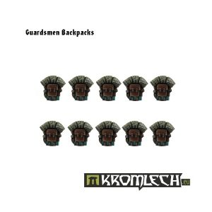 Kromlech   Imperial Guard Conversion Parts Guardsmen Backpacks (10) - KRCB021 - 5902216110199