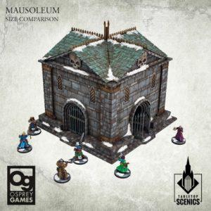 Kromlech   Kromlech Terrain Mausoleum - KRTS132 - 5908291070120