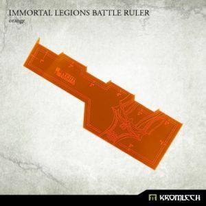 Kromlech   Tapes & Measuring Sticks Immortal Legions Battle Ruler [orange] (1) - KRGA012 - 5902216114074