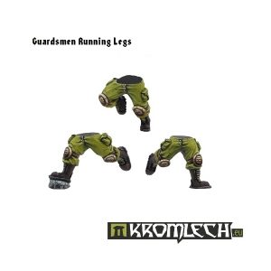 Kromlech   Imperial Guard Conversion Parts Running Guardsmen Legs (6) - KRCB042 - 5902216110403