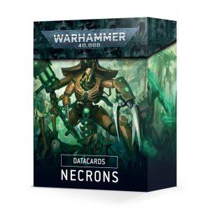 Games Workshop Warhammer 40,000  Necrons Datacards: Necrons - 60220110024 - 5011921122561