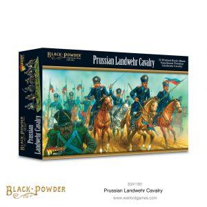 Warlord Games Black Powder  Prussians (Napoleonic) Prussian Landwehr Cavalry - 302411801 - 5060572505834
