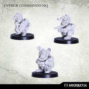 Kromlech   Dvergr Model Kits Dvergr Commando HQ (3) - KRM094 - 5902216113817