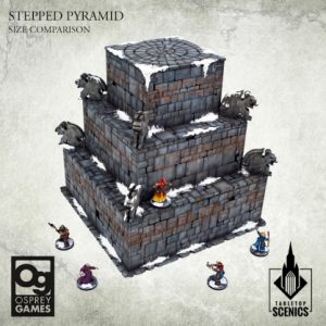 Kromlech   Kromlech Terrain Stepped Pyramid - KRTS137 - 5908291070175