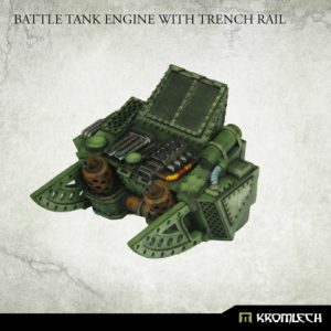 Kromlech   Vehicles & Vehicle Parts Battle Tank Engine with Trench Rail (1) - KRVB083 - 5902216119734