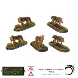 Warlord Games Warlord of Erehwon  Warlords of Erehwon Warlord of Erehwon: Wolves - 723014001 -