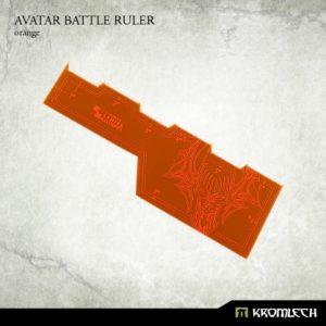 Kromlech   Tapes & Measuring Sticks Avatar Battle Ruler [orange] (1) - KRGA010 - 5902216114050