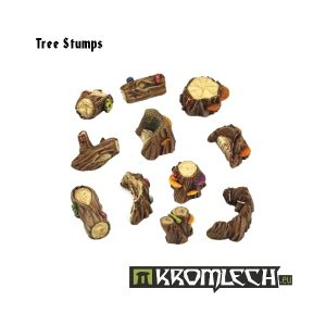 Kromlech   Basing Extras Tree stumps (11) - KRBK004 - 5902216111868