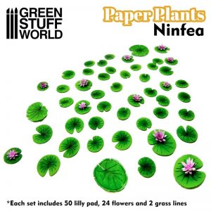 Green Stuff World   Plants & Flowers Paper Plants - Lilly Pads - 8436574508659ES - 8436574508659