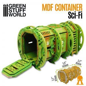 Green Stuff World   Green Stuff World Terrain SciFi Container Pod - 8436574508192ES - 8436574508192